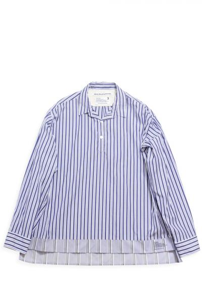White Mountaineering /Stripe Pullover Shirt