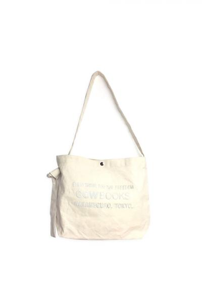COW BOOKS/Canvas Shoulder Tote