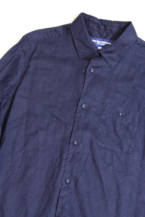 WORDROBE/LINEN LONG SLEEVE SHIRT