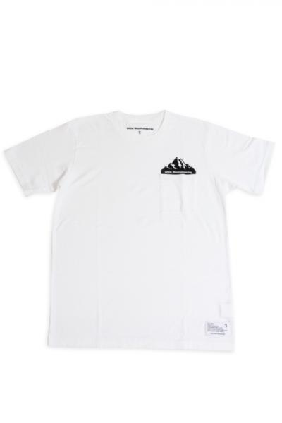 White Mountaineering / Printed T-Shirt 'POCKET'
