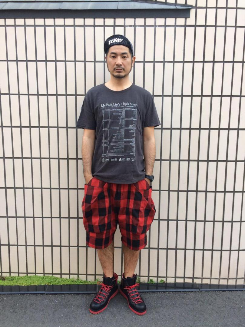 TROVE×GEAR HOLIC/BIG POCKET SHORTS (BUFFALO CHECK)