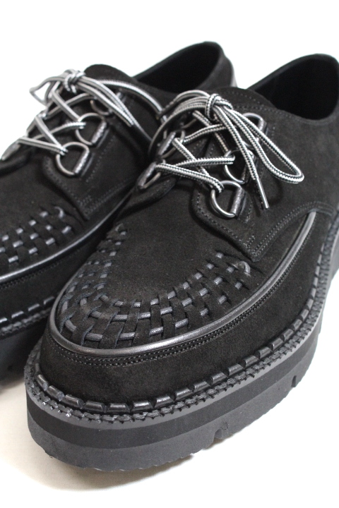foot the coacher/CHAOS D-RING SHOES BRAIDED