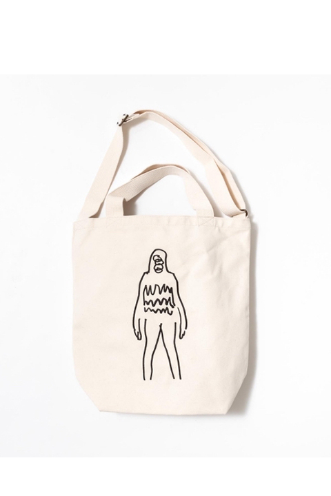 TACOMA FUJI RECORDS/BACOA TOTE designed by Tomoo Gokita