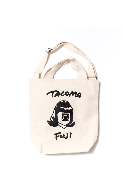 TACOMA FUJI RECORDS/TACOMA FUJI HANDWRITING LOGO TOTE