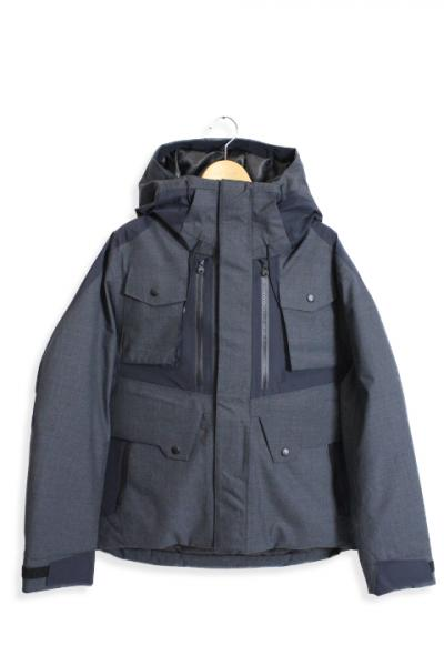 White Mountaineering /WOOL GORE-TEX DOWN JACKET