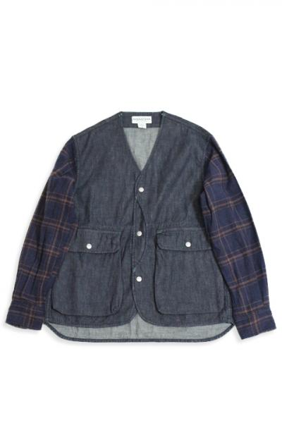 SASSAFRAS/GARDENIA HUNTER JACKET(8oz denim)
