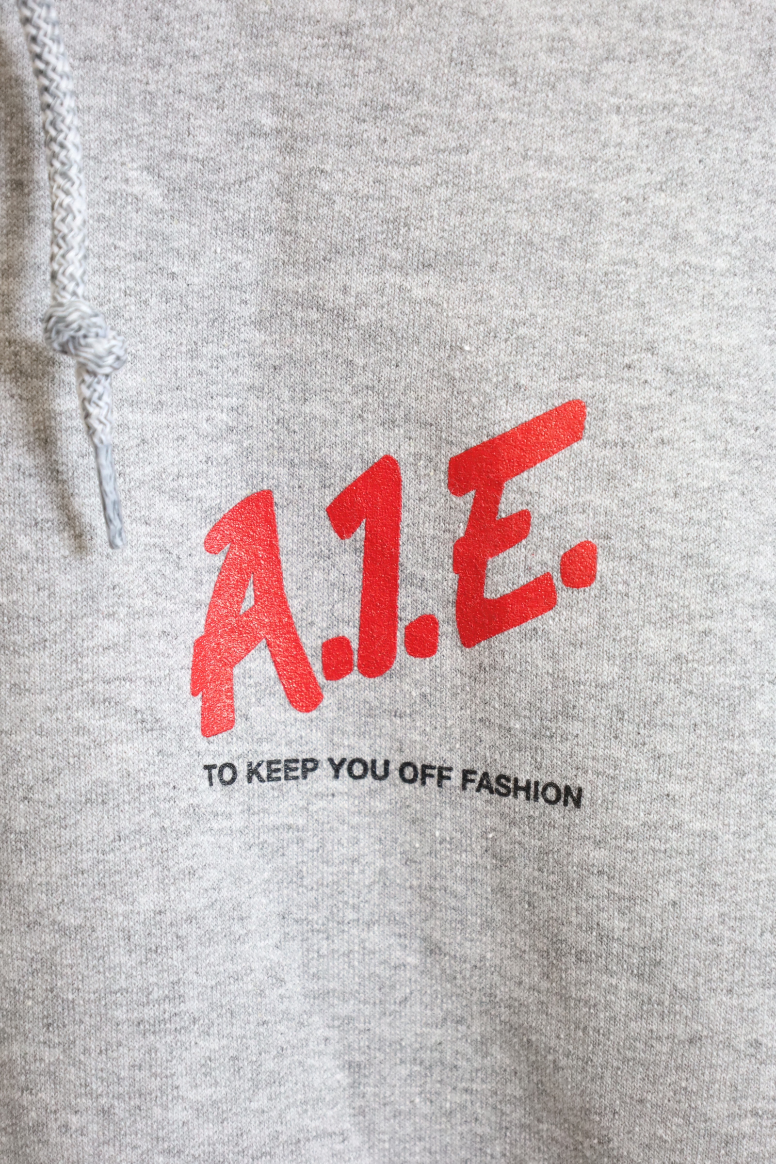 "AiE / Printed Hoody-Small ""To Keep"""