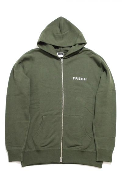 Fresh Service/LOOP WHEELER×Fresh Service Crew Zip Parka