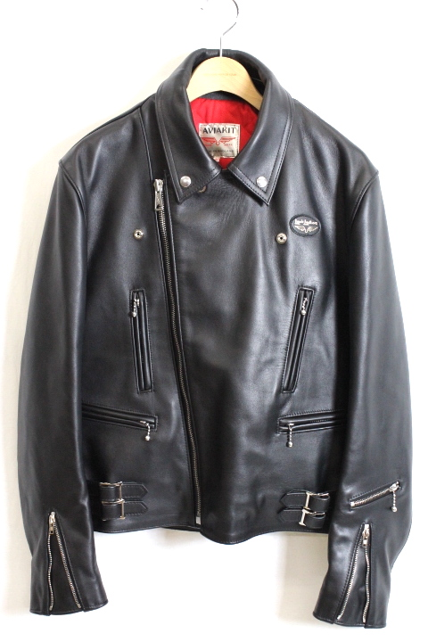 LEWIS LEATHERS/391 LIGHTNING (COW HIDE)